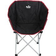 Royal Tub Chair - black and red
