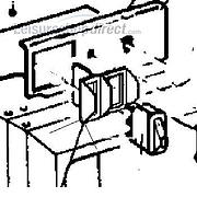 Frame for 12V Switch Dometic Fridges