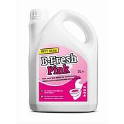 Thetford B-Fresh Pink, Flush Water