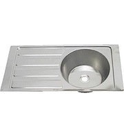 Steel Brite Sink and Drainer