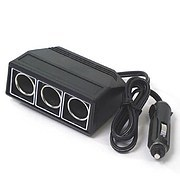 Cigar plug with 3 outlets