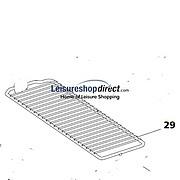 Thetford Narrow Shelf N90, N97, N100, N104, N109 & N110 - White