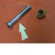 Hexagon Bolt for Alko Coupling Head