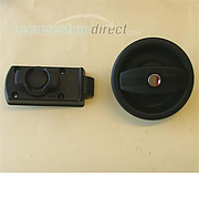 Europa Door Lock RH - Black