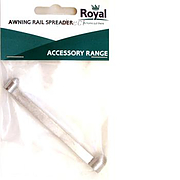 Royal awning rail spreader