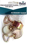 Pole Adjusting Clamp 7/8$$$ - Pack 3