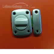 Thumbturn lock satin chrome