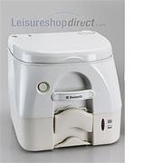 Dometic 972 Portable Toilet Beige