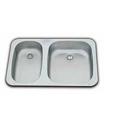 SMEV Series 900 Double Caravan Sink - Small