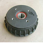 Alko Brake drum 1637 Euro with bearings