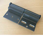 Ellbee door hinge brown RH - for Static caravanH