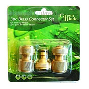 Hose 3pc Brass Connector Set