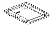 Dometic Midi-Heki Interior Frame without Assembly Parts