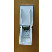 Caravan 13 amp Exterior Outlet Socket- white