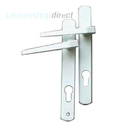 Ellbee Eurolock Handles for UPVC Doors - White
