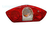 Hella Chantella rear light with fog light