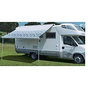 Fiamma F65 Roof Mount Awning -Titanium and Polar White
