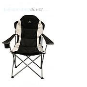 Deluxe Steel XL Armchair - Black