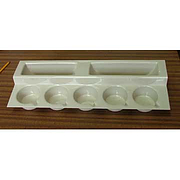 Stepped Cup & Plate Rack for Caravan/Motorhome - Beige