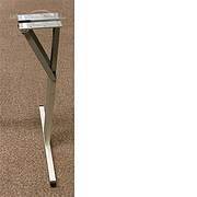 Folding Table Leg 660mm - Aluminium