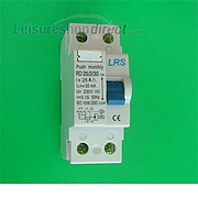 Residual Current Device - Spare RCD 25amp
