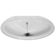 Small Inset Caravan Sink Basin complete with standard waste