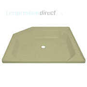 Shower tray skin - ivory