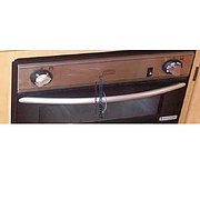 Bow Oven Door Handle Spinflo Midi Prima 445 - Chrome