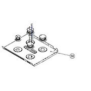 Hob Panel Removeable 4 Burner Spinflo Caprice Black