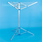 Rotary airer with tripod stand