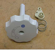 Flush Knob Assembly for Thetford toilet C2 C3 & C4 - White