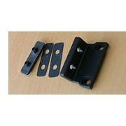 Fixed bracket 24mm for polyplastic window