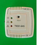 Trio gas alarm - colour ivory