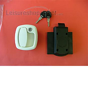 FAP Locker/Garage Door Lock - white