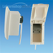 External 13 amp Socket Outlet TND - Beige