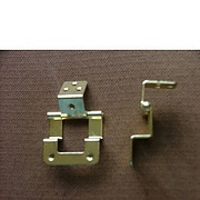 Double cranked cabinet hinge