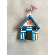 Shoeless Joe beach hut magnet (1)