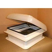 Complete Euro Vent rooflight with winding handle for Static caravans