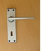 R TYPE static door handles for Static Caravans - silver