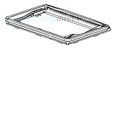 Dometic Midi-Heki Exterior Frame without Assembly Parts