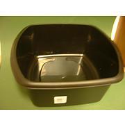 Black Rectangular Bowl