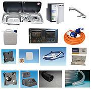 Smev MO9222L Hob and Sink, CRX50 Fridge ~~~ Sargent EC160 Conversion Kit