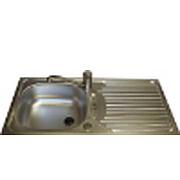 Euroline Caravan Stainless Steel Sink ~~~ Drainer 860mm x 435mm