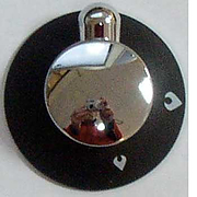 Knob for Mk 3 Spinflo Hob - Chrome