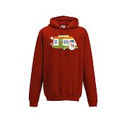 Christmas Caravan Hoodie - Santa and friends