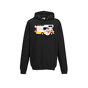 Christmas Motorhome Hoodie - Santa and friends