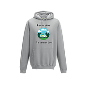 Caravan Hoodie - Rain or Shine it is caravan time