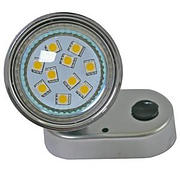 mini mr16 smd chrome light