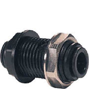 John Guest Bulkhead Connector 12mm push fit