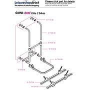 Thule Omni-Bike Elite Bike Carrier Spare Parts